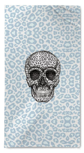 Peacock Skull Tanzania Quick Dry Resort Towel