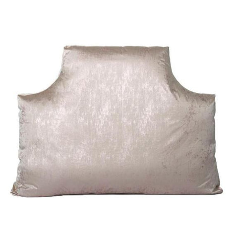 Beverly Hills Rose Metallic Queen Headboard Pillow