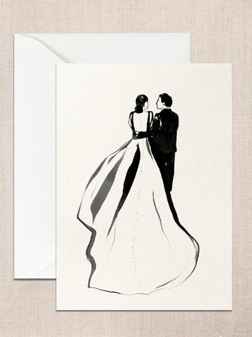 Hollypolly Prints Wedding Bliss Card