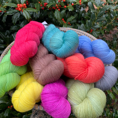 Indulgence Kettle Dyed Fingering from KFI