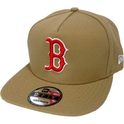 Boston Red Sox 9Fifty Khaki Core Snapback