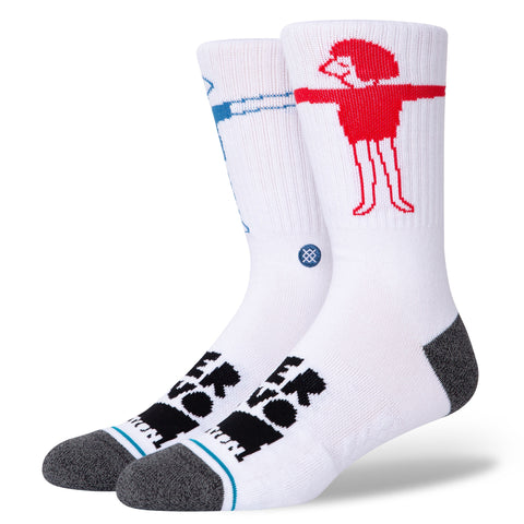 Stance Lover Socks - White