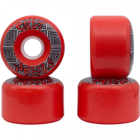 Converter Wheels Red 70mm