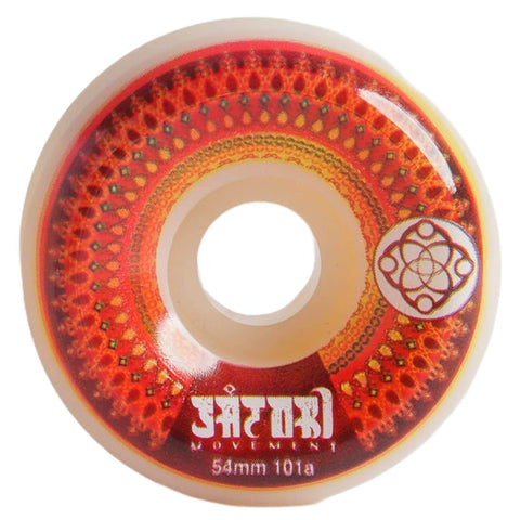 Wheels Mandala Series Red 101a 54mm