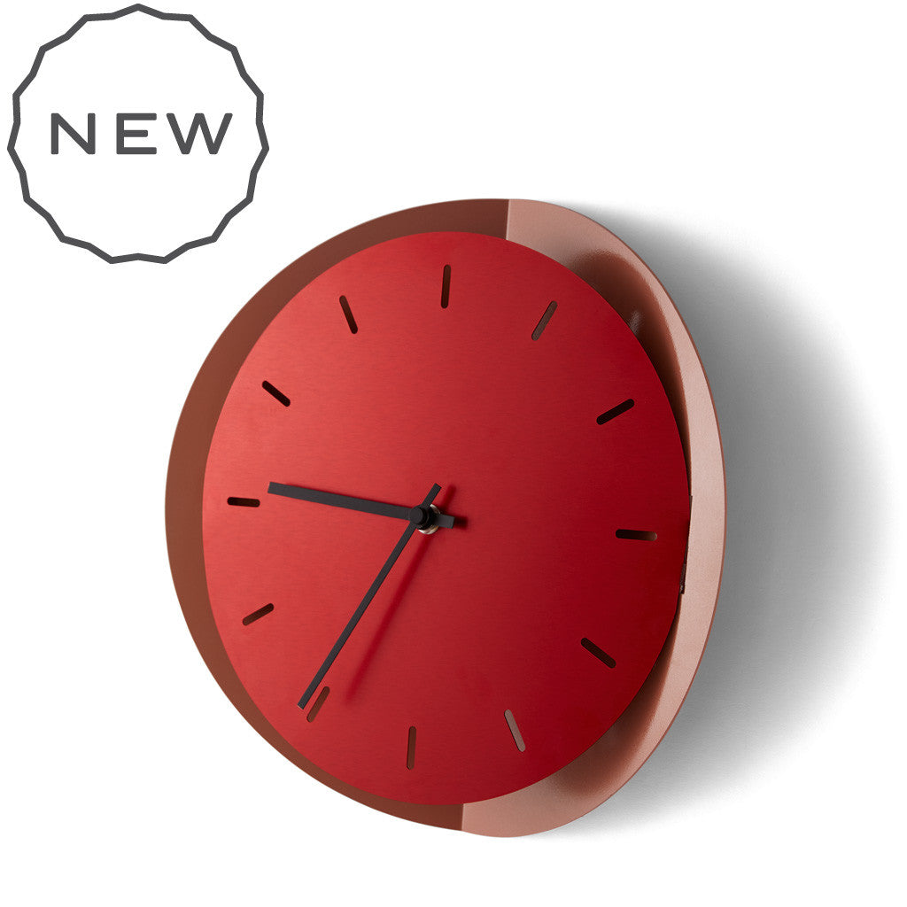 POPUP metal wall clock | Incipit: design made in Italy – Incipit lab ...
