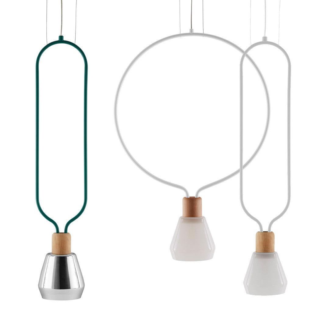 1.Agata – Geometric ceiling lamp