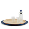 AURORA – WOODEN AND METAL TRAY