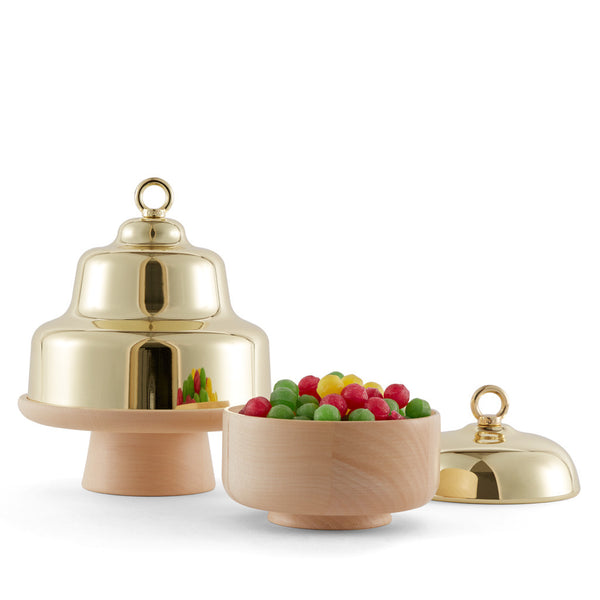 Belle — CAKE STAND WITH CLOCHE DOME