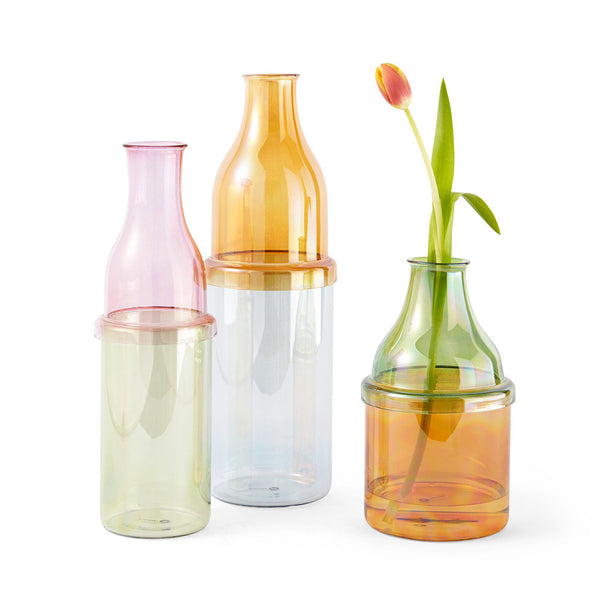 Sunset - Glass Flower Vases