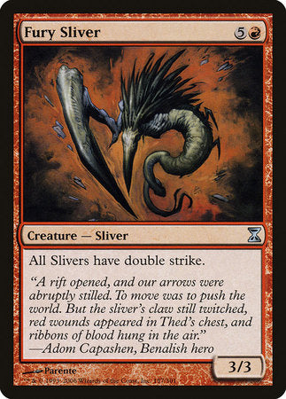 Fury Sliver [Time Spiral] | Red Dragon Gaming