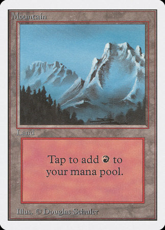 Mountain (B) [Unlimited Edition] | Red Dragon Gaming