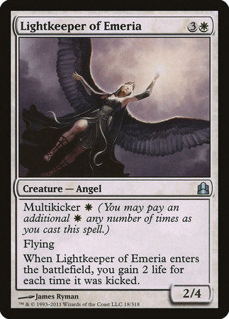 Lightkeeper of Emeria [Commander 2011] | Red Dragon Gaming
