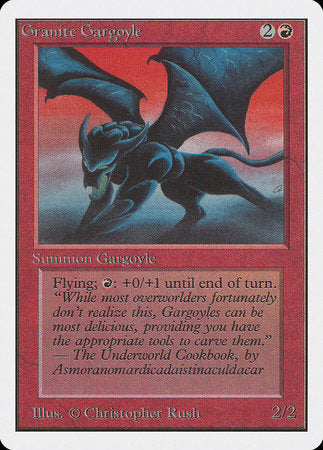 Granite Gargoyle [Unlimited Edition] | Red Dragon Gaming