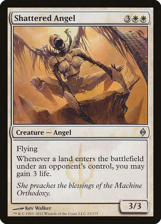 Shattered Angel [New Phyrexia] | Red Dragon Gaming