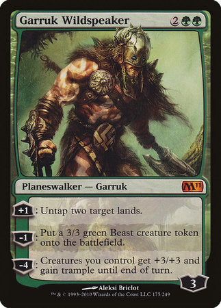 Garruk Wildspeaker [Magic 2011] | Red Dragon Gaming
