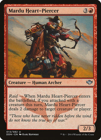Mardu Heart-Piercer [Duel Decks: Speed vs. Cunning] | Red Dragon Gaming