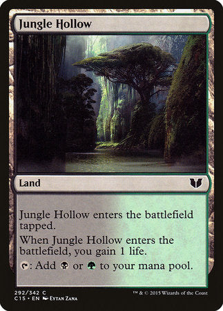 Jungle Hollow [Commander 2015] | Red Dragon Gaming