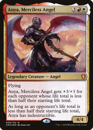 Anya, Merciless Angel [Commander Anthology Volume II] | Red Dragon Gaming