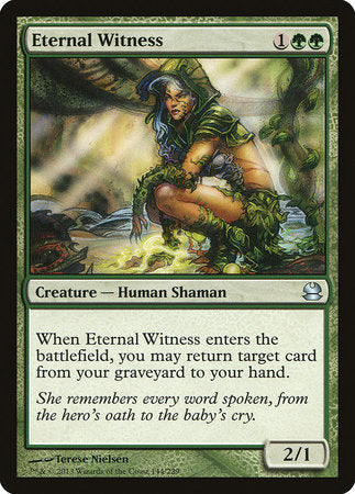Eternal Witness [Modern Masters] | Red Dragon Gaming