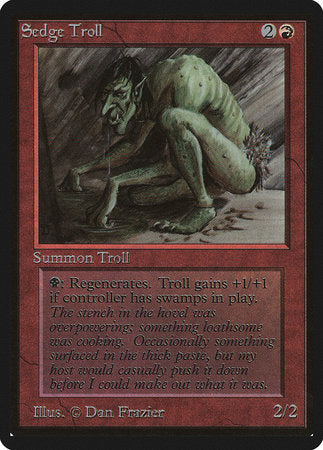 Sedge Troll [Limited Edition Beta] | Red Dragon Gaming