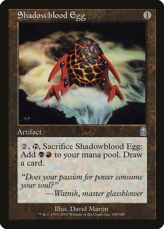 Shadowblood Egg [Odyssey] | Red Dragon Gaming