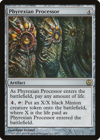 Phyrexian Processor [Duel Decks: Phyrexia vs. the Coalition] | Red Dragon Gaming