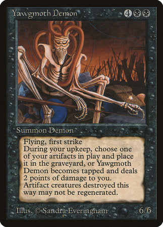Yawgmoth Demon [Antiquities] | Red Dragon Gaming