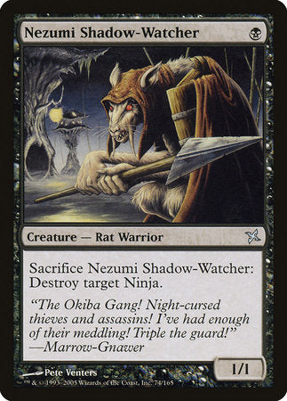 Nezumi Shadow-Watcher [Betrayers of Kamigawa] | Red Dragon Gaming