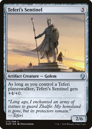 Teferi's Sentinel [Dominaria] | Red Dragon Gaming