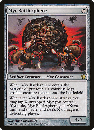Myr Battlesphere [Commander 2013] | Red Dragon Gaming