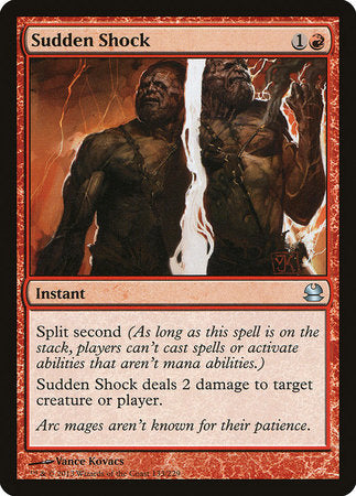 Sudden Shock [Modern Masters] | Red Dragon Gaming