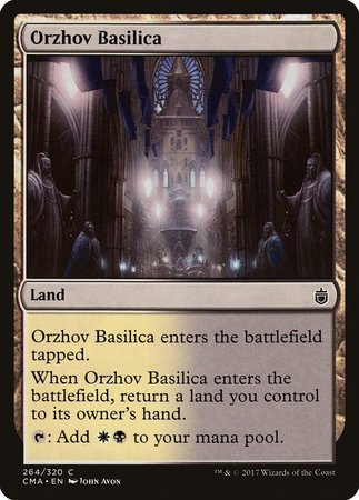 Orzhov Basilica [Commander Anthology] | Red Dragon Gaming