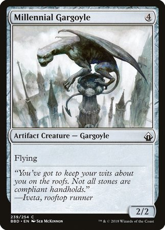 Millennial Gargoyle [Battlebond] | Red Dragon Gaming