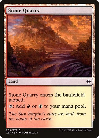 Stone Quarry [Ixalan] | Red Dragon Gaming