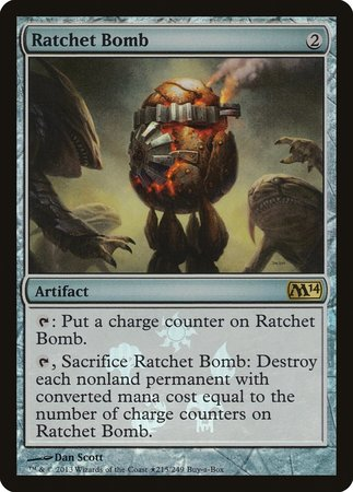 Ratchet Bomb [Magic 2014 Promos] | Red Dragon Gaming