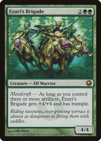 Ezuri's Brigade [Scars of Mirrodin] | Red Dragon Gaming