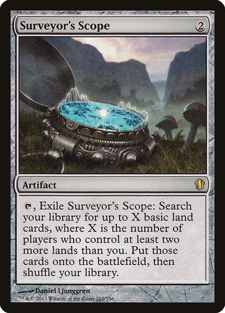 Surveyor's Scope [Commander 2013] | Red Dragon Gaming