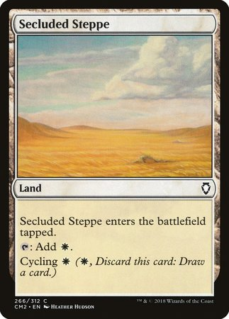 Secluded Steppe [Commander Anthology Volume II] | Red Dragon Gaming