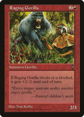 Raging Gorilla [Visions] | Red Dragon Gaming