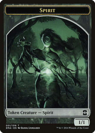 Spirit Token (Colorless) [Eternal Masters Tokens] | Red Dragon Gaming