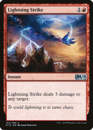 Lightning Strike [Core Set 2019] | Red Dragon Gaming