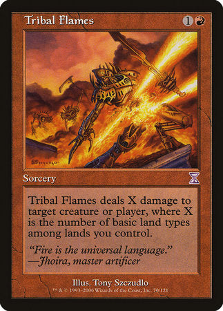 Tribal Flames [Time Spiral Timeshifted] | Red Dragon Gaming