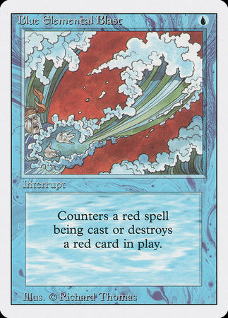 Blue Elemental Blast [Revised Edition] | Red Dragon Gaming