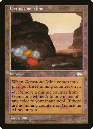 Gemstone Mine [Weatherlight] | Red Dragon Gaming