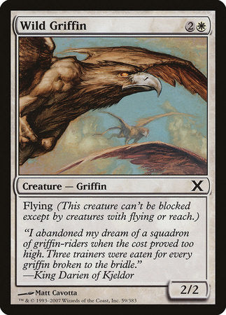 Wild Griffin [Tenth Edition] | Red Dragon Gaming