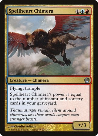 Spellheart Chimera [Theros] | Red Dragon Gaming