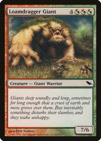 Loamdragger Giant [Shadowmoor] | Red Dragon Gaming