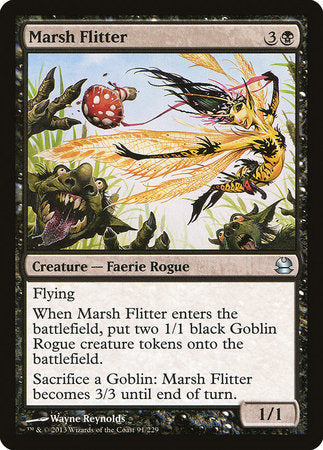 Marsh Flitter [Modern Masters] | Red Dragon Gaming