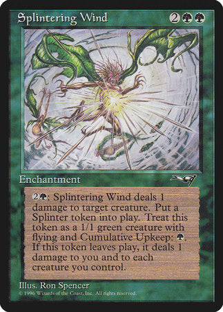 Splintering Wind [Alliances] | Red Dragon Gaming