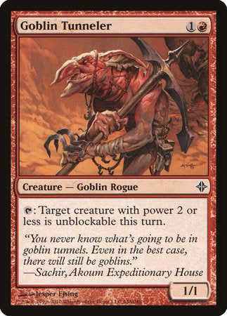 Goblin Tunneler [Rise of the Eldrazi] | Red Dragon Gaming